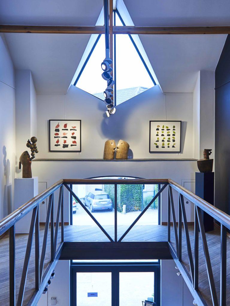 éclairage dans la gallerie d'art HOres
