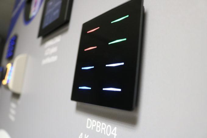 bouton tactile couleur DPBR04 noir