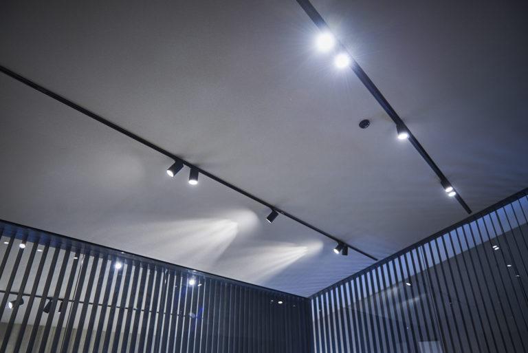 Éclairage de salle de réunion de Stokers à Anvers