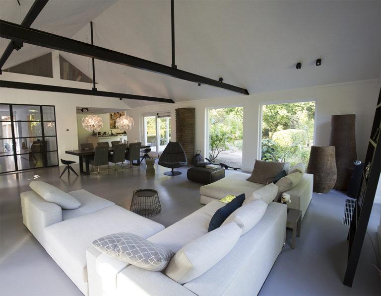 intérieur de résidence privée design à Berg en Dal