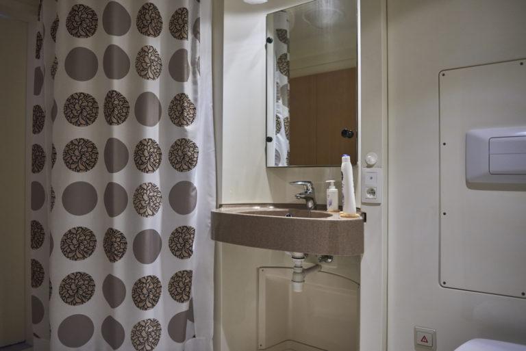 salle de bain d'un appartement de la résidence-service d'arendonk