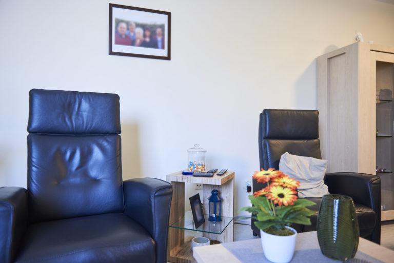 intérieur d'appartement de personne âgée
