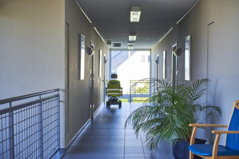 couloir de la résidence-service d'Arendonk