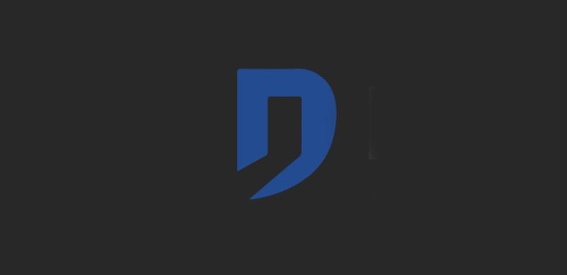 logo Domintell sur fond noir
