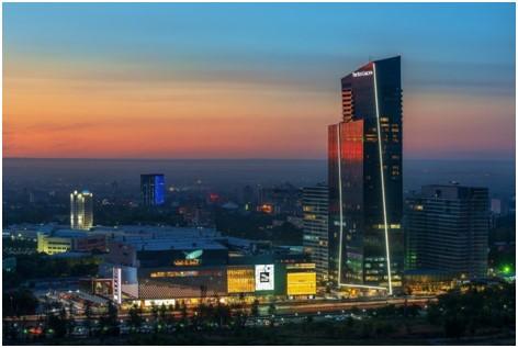 Tour Esentai – Almaty – Kazakhstan