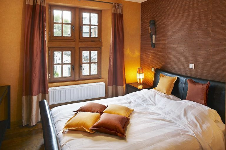 chambre du gîte château-ferme Pondrôme de Beauraing