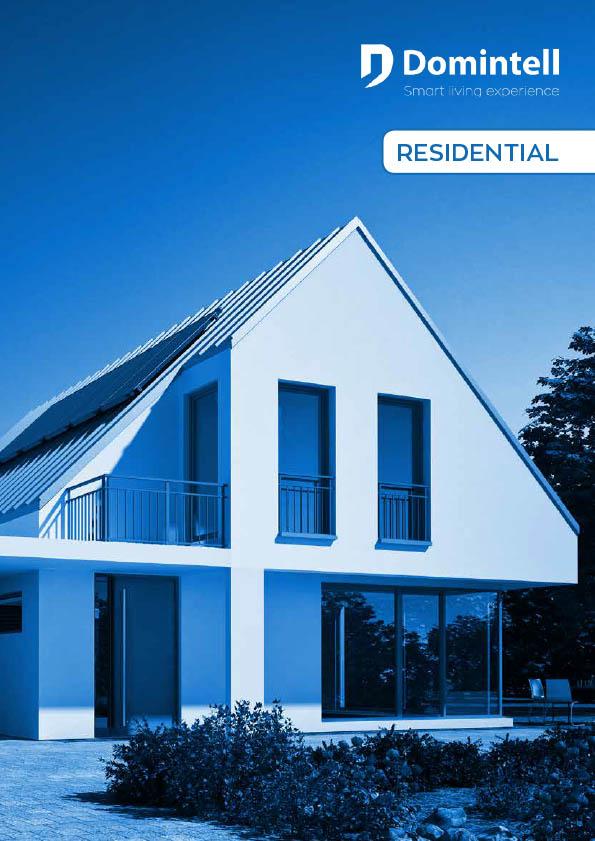 maison design bleutée