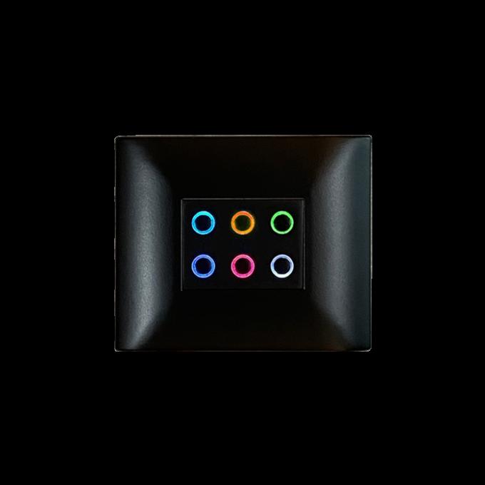 bouton-poussoir 6 touches DBPC06-B