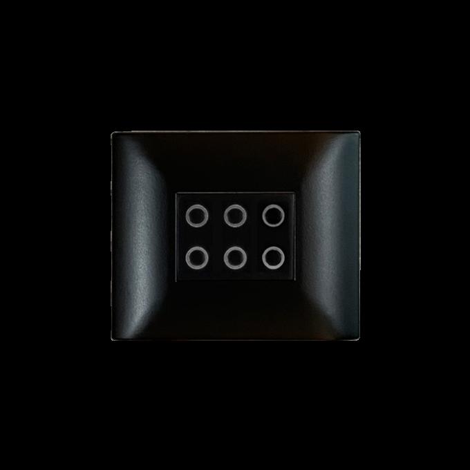 bouton-poussoir 6 touches DBPT06-B